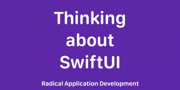 Thinking about SwiftUI