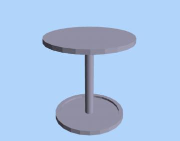 A simple pedestal