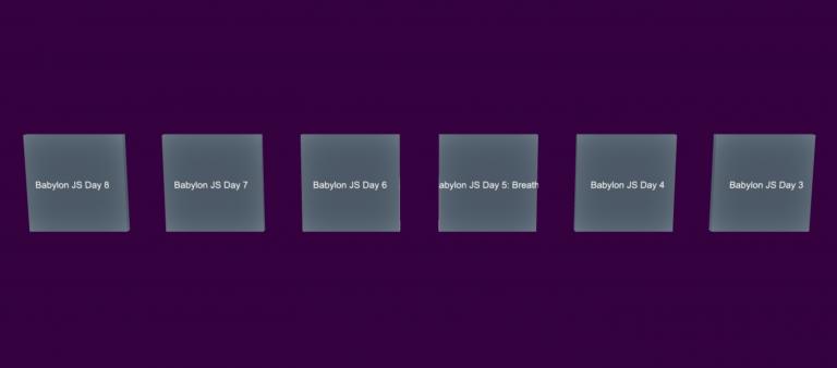 Babylon JS Day 11